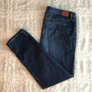 Lucky Brand Plus Size Ginger Straight Jeans EUC